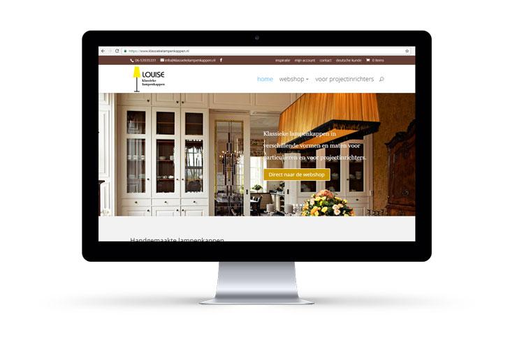 nieuwe responsive website - webwinkel