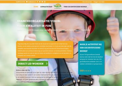 Website branchevereniging VeBON